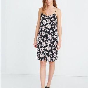 Madewell Button Front Slip Dress